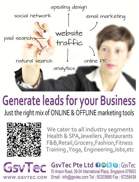 GsvTec Aug 2012 Generate Business Leads Promo