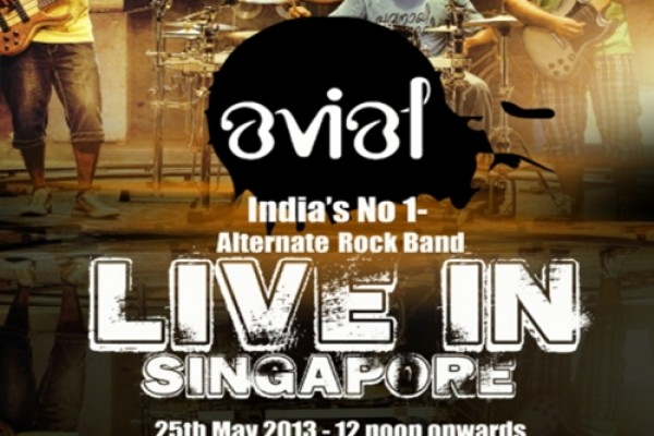 Avial rock band live in Singapore on may 25th 2013