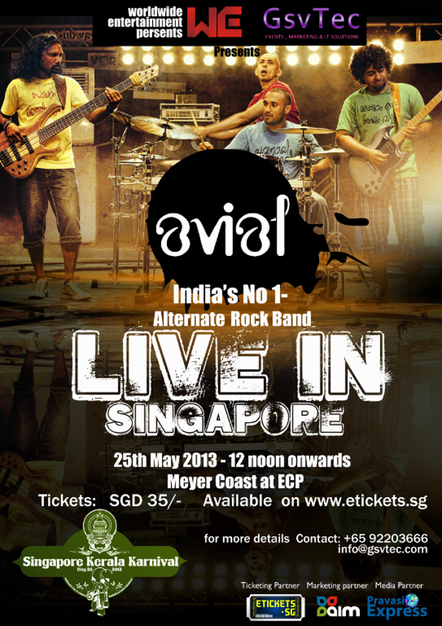 avial rock show live in singapore