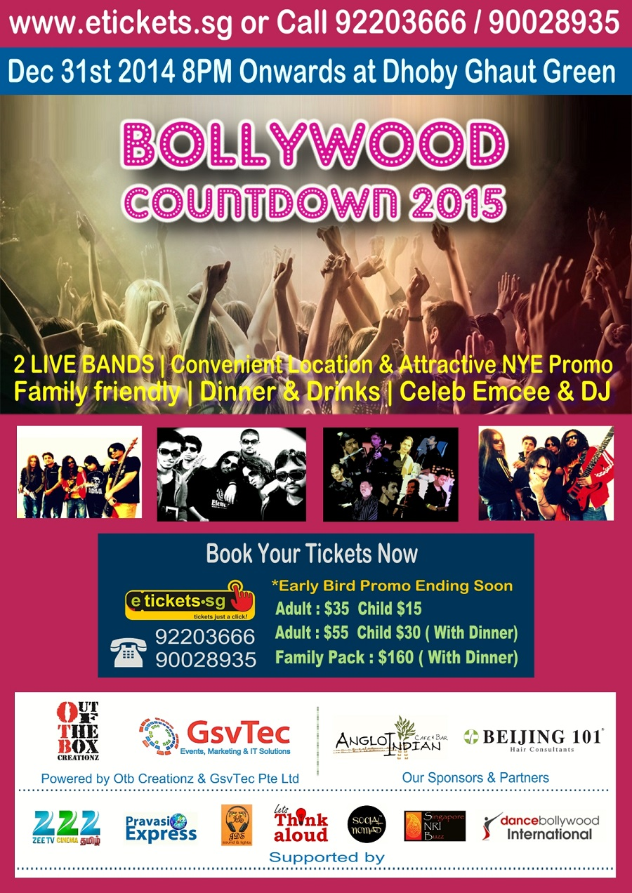 bollywood countdown 2015 singapore