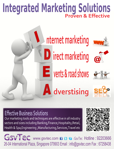 GsvTec Dec 2012 Integrated Marketing Solutions Promo
