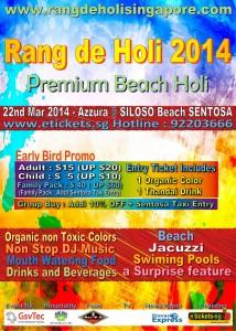 singapore premium beach holi